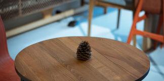 Stolik z drewna